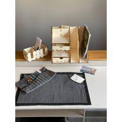 Landlust - Schreibtischunterlage aus Wollfilz