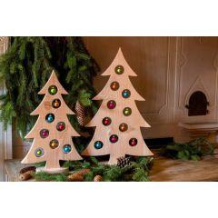 Landlust - Weihnachtsbaum mit Kugeln